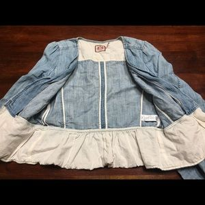 Juicy couture jean blazer